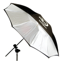 "EC45BC Eclipse 45"" White Flat-Panel Umbrella"